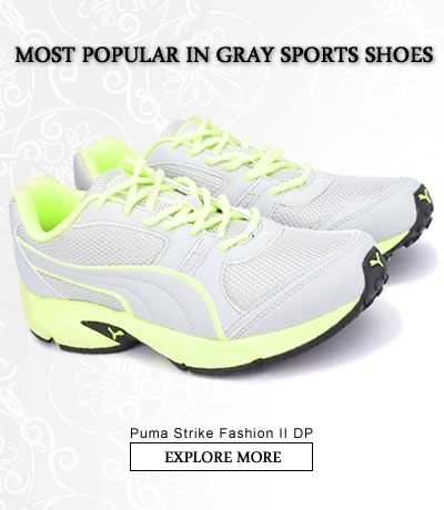 Gray  Sports Shoes