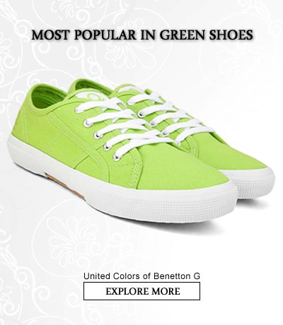 Green  Sports Shoes