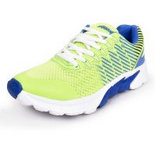 Action Shoes 1578-GREEN-BLUE Running Shoes