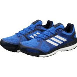A034 Adidas Size 10 Shoes shoe for running