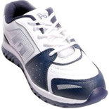 Ajanta Men's White Running Shoes