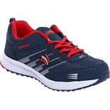 B046 Blue Size 8 Shoes training shoes