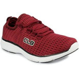 MY011 Maroon shoes at lower price