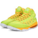 L027 Lime Branded sports shoes