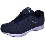 BZ012 Blue Size 8 Shoes light weight sports shoes