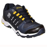 Hitcolus Navy Blue Yellow Running Shoes, Walking Shoes