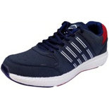 B034 Blue Size 8 Shoes shoe for running