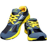 YI09 Yellow Size 8 Shoes sports shoes price