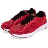 R027 Red Size 8 Shoes Branded sports shoes