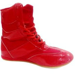 RXN Red Boxing Wrestling Shoes