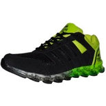 Port Green Atom Sports Running Shoes
