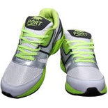 S043 Silver Size 8 Shoes sports sneaker