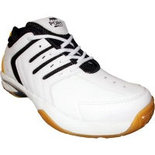 W038 White Size 8 Shoes athletic shoes