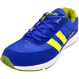 B050 Blue Size 8 Shoes pt sports shoes