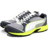 SZ012 Silver Size 8 Shoes light weight sports shoes