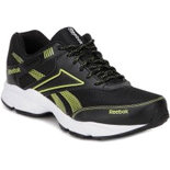 RN017 Reebok Black Shoes stylish shoe