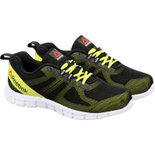 RZ012 Reebok Black Shoes light weight sports shoes