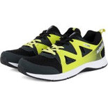 RG018 Reebok Black Shoes jogging shoes