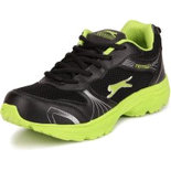 B038 Black athletic shoes