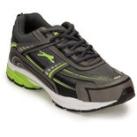 L046 Lime training shoes