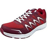 Sparx Men Red White Running Shoes