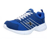 BL021 Blue Size 8 Shoes men sneaker