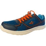 BK010 Blue Size 8 Shoes shoe for mens