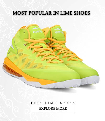 Lime  Sports Shoes