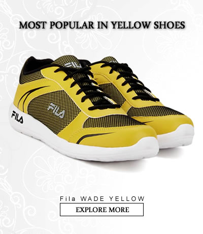 Yellow  Sports Shoes
